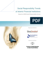 Islamic Financial Institutions 2009 CSR Trends Report b