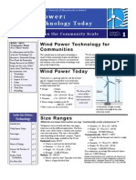 NREL Fact Sheet 1 Wind Technology