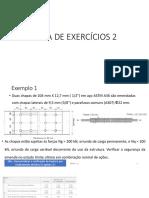 Aula de Exercícios 2.1