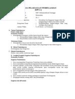 RPP BERKARAKTER MATEMATIKA KELAS IX KD 1.1