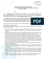 Contract Prestari Servicii Mentenanta și Actualizare - ATLAS vet LIMS (2019) v2.1 - 14.02.2020