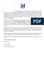 MIEL GET 2011 Scheme & Compensation
