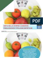alimentazione nelle diverse condizioni fisiologiche