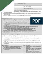 Leader Analysis Sheet Peter