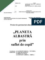 proiect de parteneriat-planeta prin suflet de copil