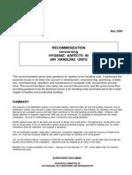 Eurovent REC 6-14 - Hygienic Aspects in Air Handling Units - 2000 - En
