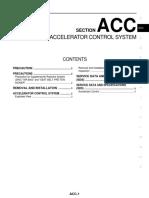 ACC - ACCELERATOR CONTROL SYSTEM