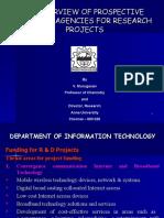 Indian funding agencies 23 07 2009