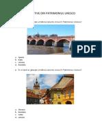 Obiective din Patrimoniul Unesco