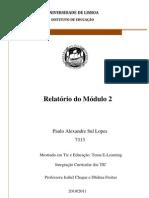 Relatório do modulo 2
