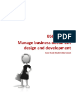 BSBADM506 Case study Student Workbook.docx