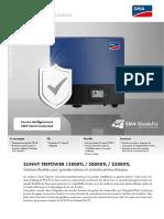 Brochure SUNNY TRIPOWER 15000TL / 20000TL / 25000TL