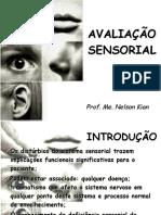 001 Avaliação sensorial
