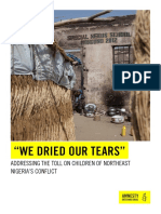 'We dried our tears'