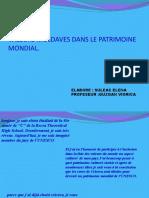 VALEURS MOLDAVES DANS LE PATRIMOINE MONDIAL