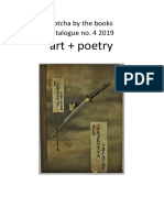 art + poetry catalogue iii