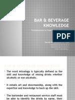 (14) Bar  Beverage Knowledge New.pptx