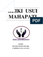 Reiki Usui Mahapati Manual Level 1 - 3