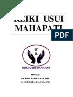 Reiki Usui Mahapati Manual Level 1 - 3