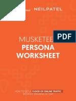 musketeer-persona-worksheet