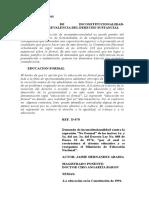 C-016-93 Educación Formal