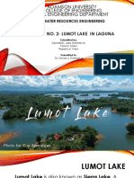 Case Study No. 2- Lumot Lake in Laguna