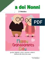 Festa Dei Nonni Libro Da Stampare Colorare