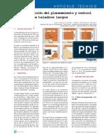 informatizacion del planeamiento y control de minado taladros largos