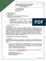 Guía 1 Proponer Alternativas De Solución De Conflictos y Liderazgo.