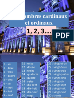 learn french nombres cardinaux ordinaux