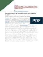 Embargado - Venezuela y Covid-19 Informe 26mayo2020