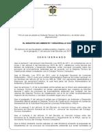 Proyecto R. Licenciamiento ambiental