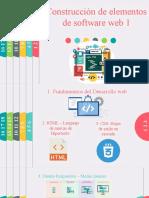 Construcción de Elementos de Software Web 1