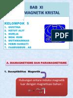 sifat magnetik kristal