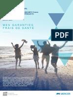 Résumé de garanties Frais de Santé 2020- TYCO
