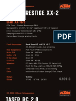 KTM 2011 Bikes Pricelist
