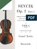 Oskar Sevcik School of Bowing Technique Viola Studies - Op 2 Part 1
