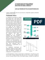Guía práctica 3. Destilación Fraccionada-Cristalización