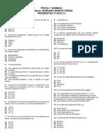 F y Q 3º ESO (10). TEST Pendientes.