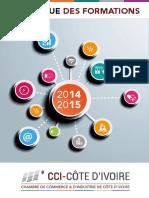 Catalogue des formations 2014-2015