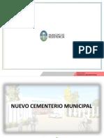 Subsecretaria Arquitectura y Movilidad Urbana NUEVO CEMENTERIO MUNICIPAL