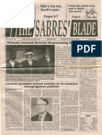 The Sabres' Blade | 17 February 1999