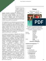 Fungi - Wikipedia, la enciclopedia libre
