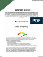 Entrepreneurship Test -March 2020