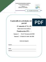 CUADERNILLO DE TRABAJO DE TEMAS SELECTOS DE QUIMICA (BLOQUE 2)