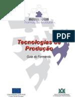 TECNOLOGIAS DE PRODUÇÃO - MODULFORM