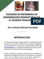 Cuidados de Enf en Enfermedades Respiratorias Ped.ppt