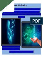 Importancia del Estudio de la Genética - Afiche