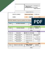 GCF-F-010 Diario de Producción  EMPROYECT SEM 1