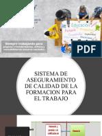 SISTEMA DE ASEGURAMIENTO DE CALIDAD  PROPUESTA ASENOF